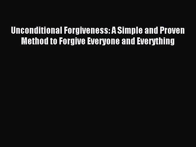 8 Steps to Forgiveness Process