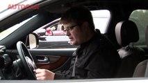 Porsche Cayenne v BMW X6 M v Infiniti FX v Range Rover Sport drag race by autocar.co.uk