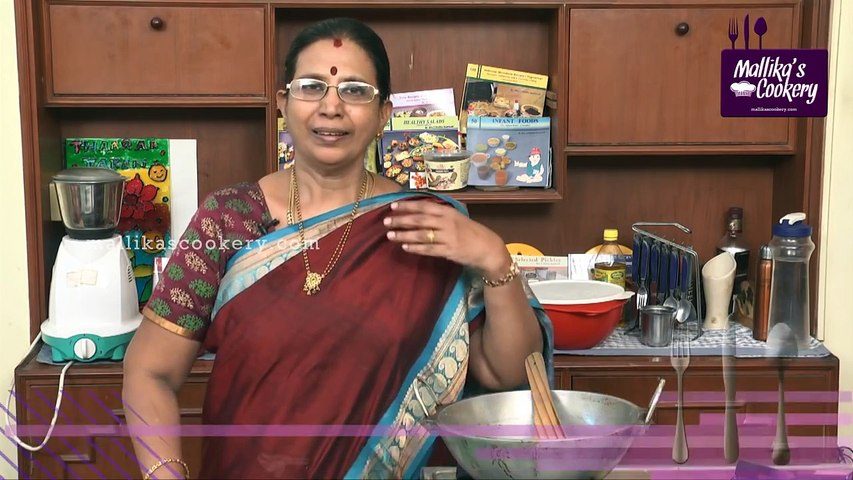 Sambar Powder in Tamil   Mallika Badrinath Recipes   South Indian Style