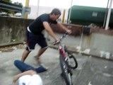 Pro biker eats shit