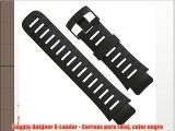 Suunto Outdoor X-Lander - Correas para reloj color negro