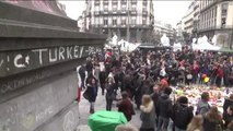 Brüksel'deki Terör Saldırıları - Terör Kurbanları Anılıyor