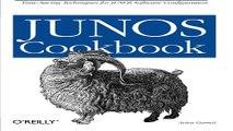Download JUNOS Cookbook  Cookbooks  O Reilly