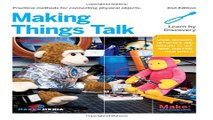 Download Making Things Talk  Using Sensors  Networks  and Arduino to see  hear  and feel your world