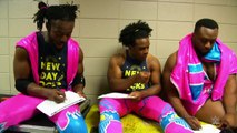 The New Day fills out their brackets for March Madness with ESPNs Tournament Challenge
