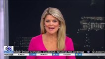Woman FLASHES Live TV News Reporter
