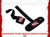 RDX Gimnasio Pesas Correas Levantamiento Muñequeras Crossfit Elevación Gym Straps Deportivas