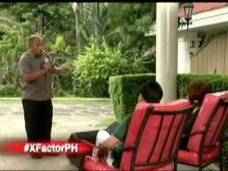 X Factor Philippines - MODESTO Judges Home.wmv