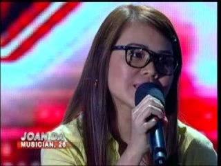 X Factor Philippines - JOAN Boot Camp.wmv