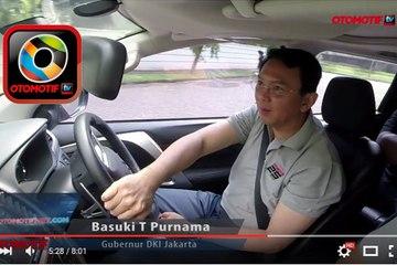 Ahok Test Drive Mitsubishi All New Pajero Sport - Apa Komentarnya?