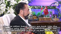 Live Conversation of Adnan Oktar with His Guests, Rabbi Yeshayahu Hollander and Mr. Assaf Gibor on A9 TV on March 12th, 2016
