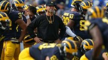 Michigan's Harbaugh responds to OSU's verbal jab