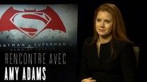 Batman V Superman : Amy Adams parle de Lois, Ben Affleck et Jesse Eisenberg