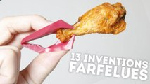 13 inventions absolument farfelues - QUI L'EÛT CRU ?