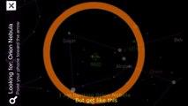Timelapse Orion Nebula and Meteor 11 January 2015 moving object beside Orion Nebula 4K Jak
