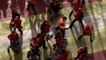 Les Scarabées d'Ens'Batucada au Carnaval de Paris