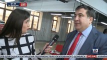 Саакашвилли О новом премьере Украины и о том как он намерен, бороться с зомби и мумий в лице старой системы.