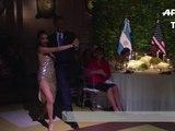 Argentine: Obama se laisse entraîner dans un tango décontracté