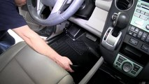 Review of the Husky Liners WeatherBeater Front and Rear Floor Liners on a 2011 Honda Pilot