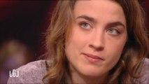 Adele Haenel très émue sur le plateau du Grand Journal