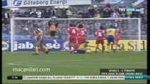 07.10.2000 - 2000 World Cup Qualifying Round 4th Group Matchday 2 Sweden 1-1 Turkey - Dünya Kupası Elemeleri İsveç 1-1 Türkiye