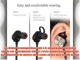 Mpow Magneto Auricular Deportivo Manos Libres Estéreo Inalámbrico Bluetooth 4.1 con Mic Graves