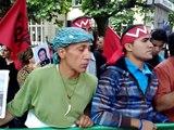 تظاهرات ايرانيان مقيم سوئيس جلوي سفارت رژيم در برن (4)