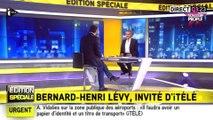 """Attentats de Bruxelles - Bernard-Henri Lévy : """"Nous sommes en guerre totale aujourd'hui"""""""