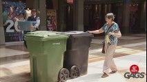 Rabid Trash Can Prank