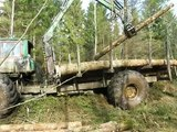 Homemade forwarder Ive never seen before, extreme