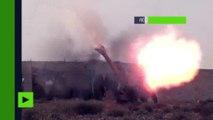 Syrie : les forces du gouvernement syrien avancent vers Palmyre (IMAGES EXCLUSIVES)