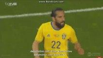 Marcus Berg Fantastic CURVE SHOOT Chance - Turkey vs Sweden