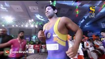 Pro Wrestling League 2015-Krishan Kumar Vs Giorgi Sakandrlipze-21st December 2015