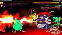 TheMattalocalypse Random Mugen Battle - 022 - Sponge Bob and Invader Zim VS. Dodgers and Marvin