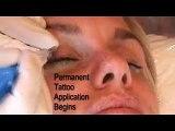 Permanent Make-up, Tattoo Eyeliner Treatment - Natural Enhancement