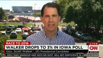 Wisconsin Gov. Scott Walker Only Polling at 2 Percent Nationally (09-14-15)