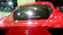 Ferrari 458 Italia in the showroom