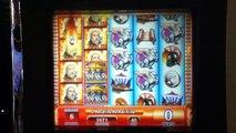 ZEUS II Slot Machine with BONUS RETRIGGERED and SUPER RESPINS Las Vegas Casino