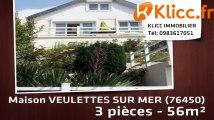 A vendre - VEULETTES SUR MER (76450) - 3 pièces - 56m²