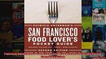 Patricia Untermans San Francisco Food Lovers Pocket Guide Second Edition