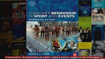 Consumer Behaviour in Sport and Events Sports Marketing