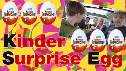 Happy Easter 2016: Kinder Surprise Egg Hunt in a Seat Alhambra | Kinder Chocolate | Kinder Egg | Meike & Leo