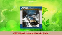 Download  CSX Diesel Locomotives in Color PDF Book Free