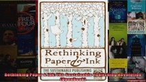 Rethinking Paper  Ink The Sustainable Publishing Revolution OpenBook