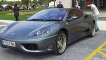 replica Ferrari F360 from a Peugeot 405 coupe