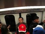 JMJ no Metro