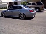 Awesome Sound of BMW M5  burnout 2016