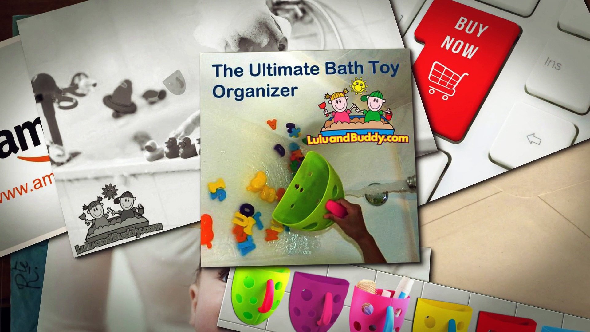 High Quality Bath Toy Organizer