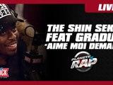 """The Shin Sekaï feat. Gradur """"Aime moi demain"""" en live dans Planète Rap"""
