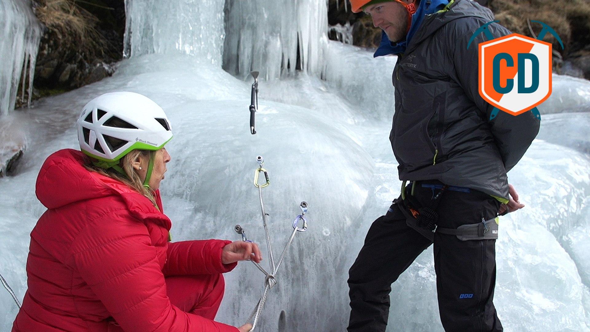 How To Build An Anchor - Ice Climbing | Climbing Daily, Ep. 685